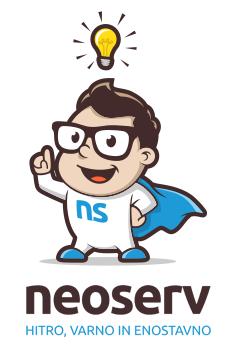 WordPress gostovanje NEOSERV.si